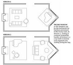 Furniture Placement In Living Room With Bay Window Popular - Furniture placement living room bay window