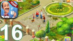 homescapes story walkthrough gameplay part 16 day 14 ios