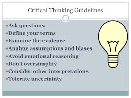 thesis guidelines Identify the Goal  Population  and Type of Study The goal should be stated precisely