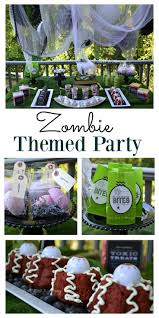 zombie themed party zombie birthday zombie party and halloween