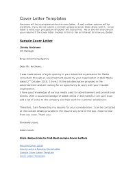 free example of cover letter 68 images sample job application