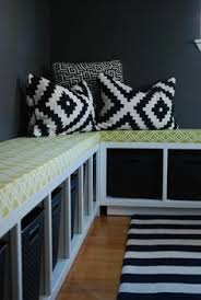 Under Window Bench Seat Storage Diy by Diy Window Bench Add Double Batting To Cushion To Make It More