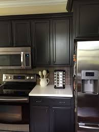 best kitchen cabinet refinishing paint cabinets are sherwin williams iron ore sw7069 kitchen