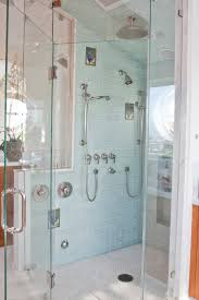 sea glass bathroom ideas frameless glass shower doors bathroom traditional with bath