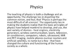Challenge Physics Challenges And Evaluation In Physics Ppt