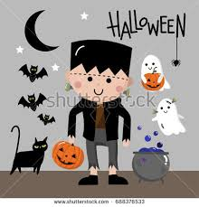 Boys Frankenstein Halloween Costume Frankenstein Costume Stock Images Royalty Free Images U0026 Vectors