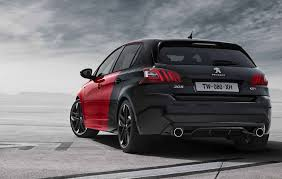 peugeot 308 gti blue 2017 peugeot 308 gti news reviews msrp ratings with amazing