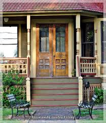 Cottage Curb Appeal - country style front door country style front entrances front door
