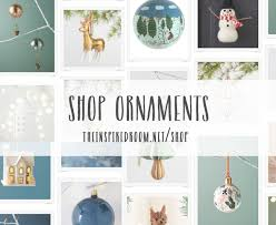 shop ornaments the inspired room