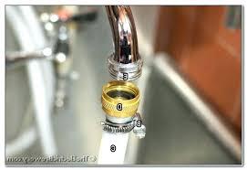 kitchen faucet adapter for garden hose faucet to hose adapter lowe awesome faucet to hose adapter faucet