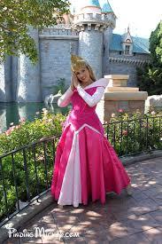 sleeping beauty princess aurora disneyland resort costumed
