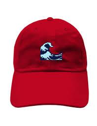 Meme Snapback - wave emoji meme unstructured dad hat and official snapback hat