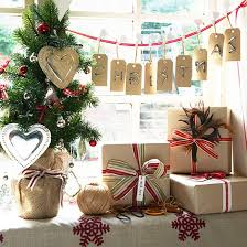 country decorating ideas brown paper