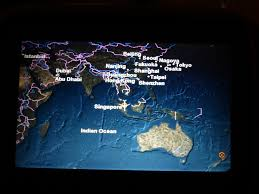 Singapore Airlines Route Map by Review Of Singapore Airlines Flight From Singapore To Auckland In