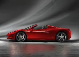 Ferrari 458 Italia Spider - 2012 ferrari 458 italia spider drops its hardtop w video