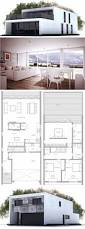 modern house design to narrow lot floor plan from concepthome com