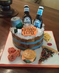 beer themed birthday cake 2 i was asked to make a surprise u2026 flickr
