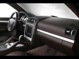 2006 Porsche Cayenne - 2006 techart magnum based on porsche cayenne interior 1024x768