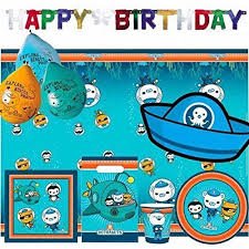 octonauts birthday ultimate party kit for 8 amazon co uk toys