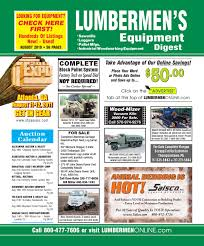august 2010 lumbermen u0027s equipment digest by lumbermen u0027s