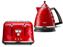 De Longhi Kettle And Toaster Electric Kettle And Toaster Sets Delonghi Brillante 4 Slice