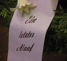 trauersprüche für schleifen was kann auf eine trauerschleife schreiben lassen