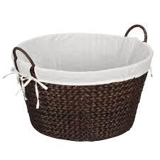 Round Laundry Hamper by Amazon Com Household Essentials Ml 6667b Round Wicker Laundry