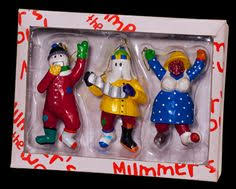 mummers tree ornaments