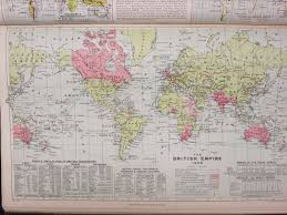 Uiuc Map British Empire 1908 Map Library University Of Illinois At