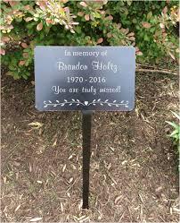 memorial plaques garden markers memorial plaque metal plaques name plates name