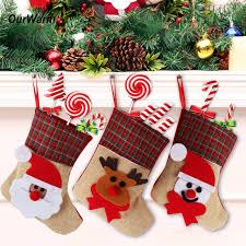 christmas holders ourwarm 4pcs lot christmas santa claus christmas