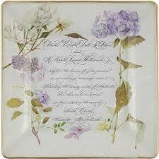 wedding invitation plate keepsake 7 best découpage wedding plates images on wedding