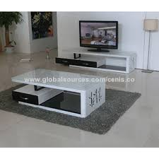 Suply Modern Glass Coffee Tables Unique MDF End Tables TV Cabinet - Tea table design