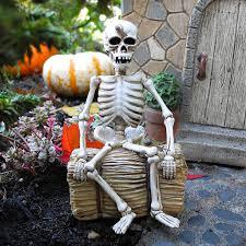 Miniature Halloween Ornaments by Miniature Halloween Gardening With Plow U0026 Hearth The Mini Garden