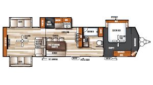 Park Model Rv Floor Plans by 2018 Forest River Salem Villa Estate 395ret Model