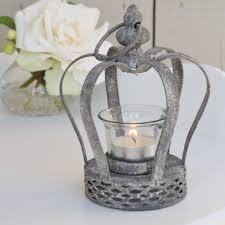 crown tea light holder bliss and bloom ltd