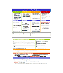 doc 520735 asthma action plan u2013 asthma action plan examples
