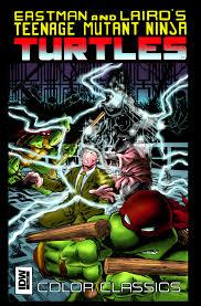 tmnt color classics 9 idw tmnt teenage mutant ninja
