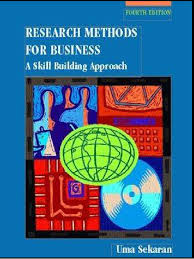 4th edition uma sekaran research methods for business a skill