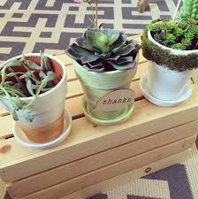 decorative spring flower pots 3 ways making lemonade