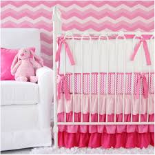 Nursery Bedding Sets Uk by Bedroom White Crib Pink Ruffled Chevron Crib Bedding Cool