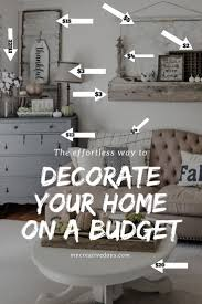 learn how to decorate a beautiful home on a yard sale budget