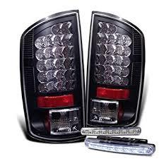 2008 dodge ram 1500 led fog lights amazon com rxmotoring 2007 2008 dodge ram 1500 tail lights led 8