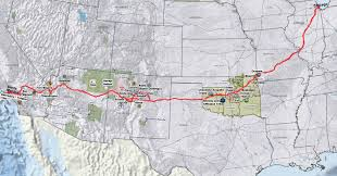 Map Of Route 66 From Chicago To California by American Indians U0026 Route 66