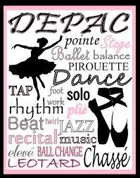 custom dance poster tap poster jazz poster ballet poster