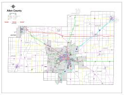 Map Oh Ohio by Lima Allen County Regional Planning Commission Lima Allen County