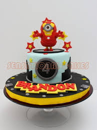 Minion Cake Decorations 25 Iron Man Cakes Your Little Superhero Will Love
