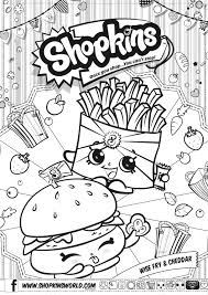 shopkins coloring pages with no color printable shopkins