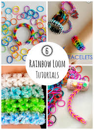 looms bracelet instructions images 6 rainbow loom bracelet tutorials to make make and takes jpg