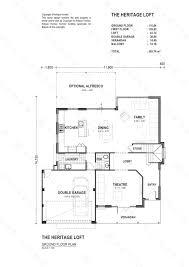 heritage homes floor plans the heritage loft artique homes